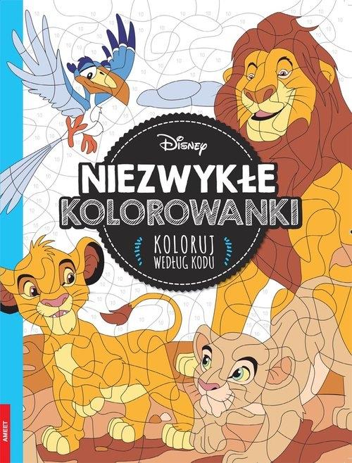Disney Classic Niezwykłe kolorowanki. Koloruj według kodu
