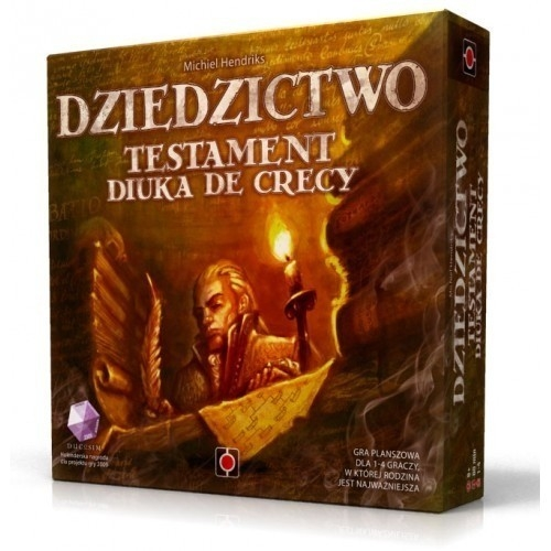 Dziedzictwo Testament Diuka de Crecy (27040)