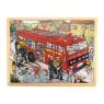Puzzle Wóz strażacki 24 elementów