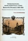 System polityczny prawo konstytucja i ustrój Królestwa Polskiego 1815-1830