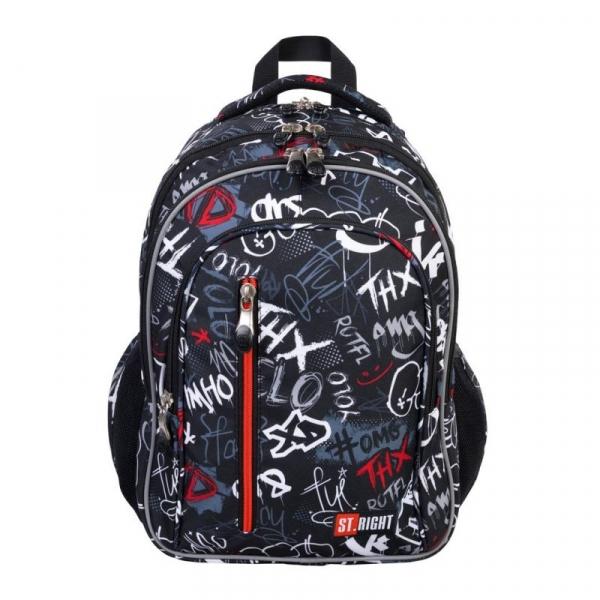 Plecak 4-komorowy St.Right - Slang Graffiti