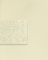 Papeteria kremowa A4 Millenium 20 arkuszy + koperty DL Róże10 sztuk (206222)