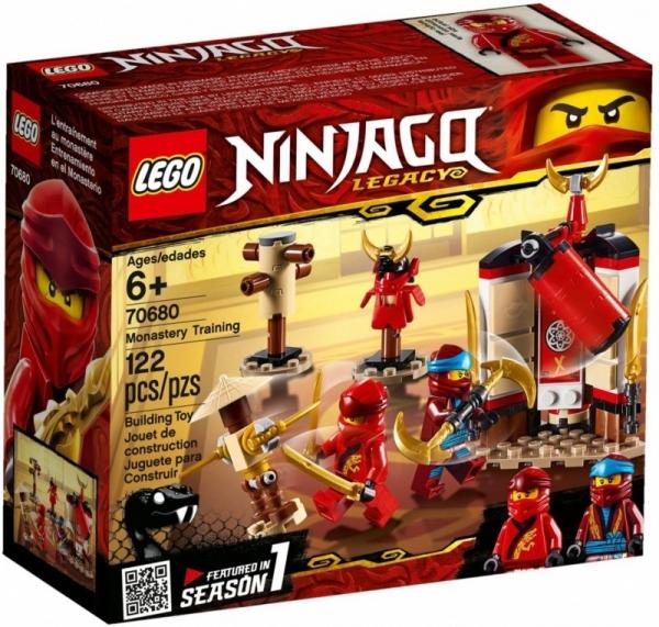 Klocki Ninjago Szkolenie w klasztorze (70680)