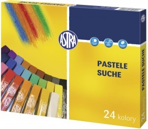 Pastele suche 24 kolory ASTRA