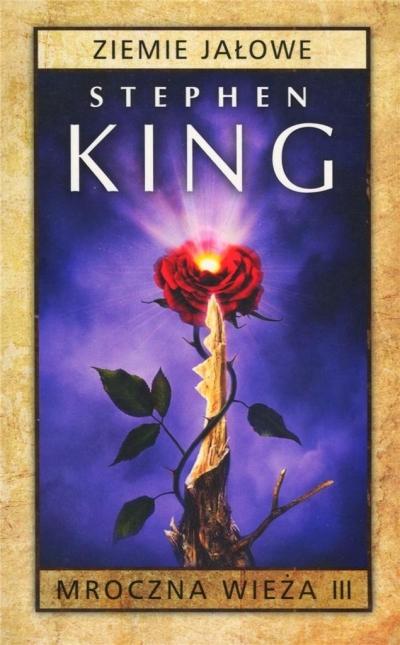 Mroczna Wieża T.3 Ziemie Jałowe pocket Stephen King