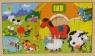 BRIMAREX Puzzle drewniane zwierzęta (1551429)