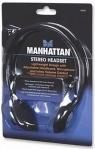 Słuchawki stereo z mikrofonem MANHATTAN