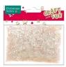 Ozdoba dekoracyjna confetti transparentne 30g