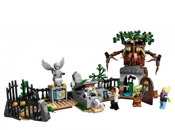 Lego Hidden Side: Tajemnicze cmentarzysko (70420)