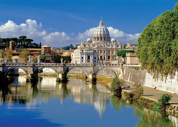 Watykan, Rzym, Włochy - 500 elementów (37087)