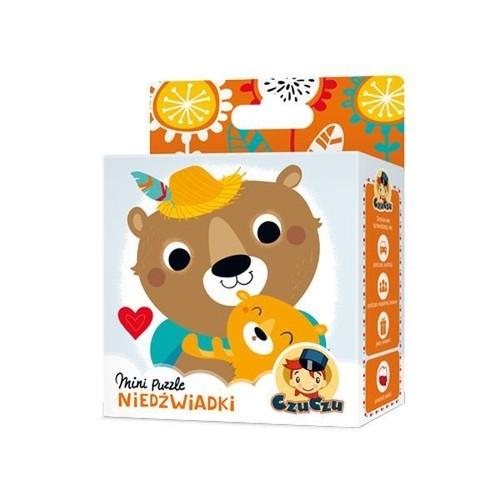 Czuczu Mini puzzle Niedźwiadki (Uszkodzone opakowanie) (6429)