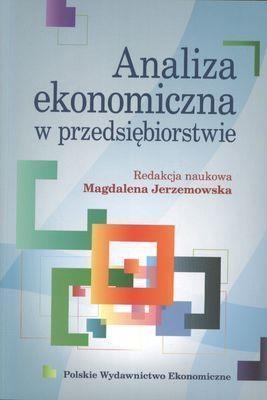 Analiza ekonomiczna w przedsiębiorstwie Jerzemowska Magdalena