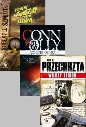 Pakiet - Dziecię ognia / Ostatni zjazd.../Wilczy.. Adam Przechrzta, Robert J. Szmidt, Harry Connolly