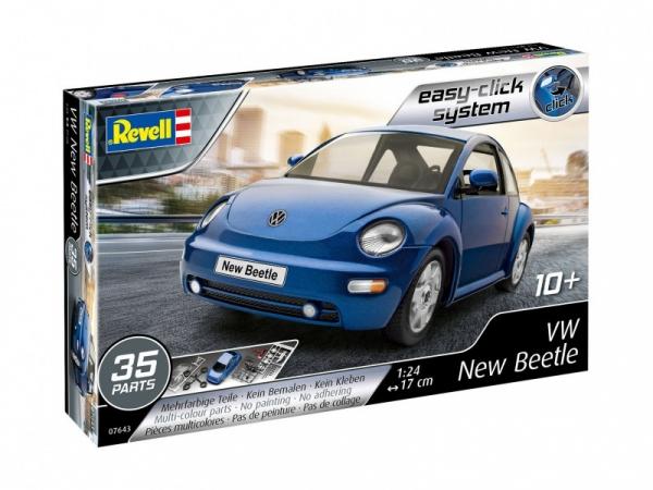 Model plastikowy VW New Beetle 1/24 (07643)