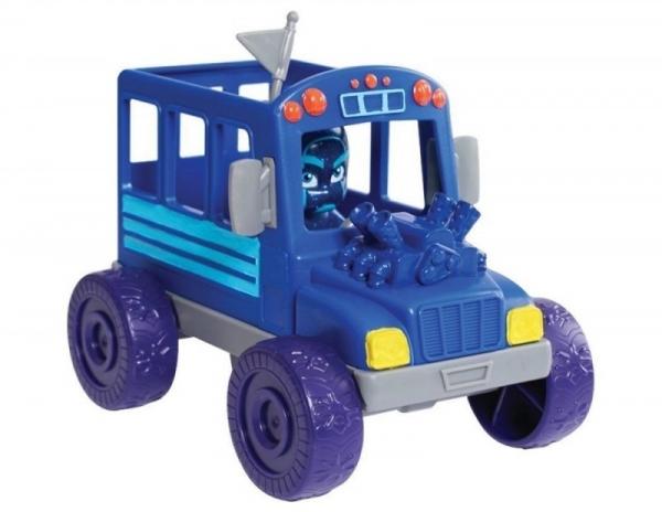 Pidżamersi Pojazd Turbo z figurką, Night Ninja Bus (JP-24975-4)