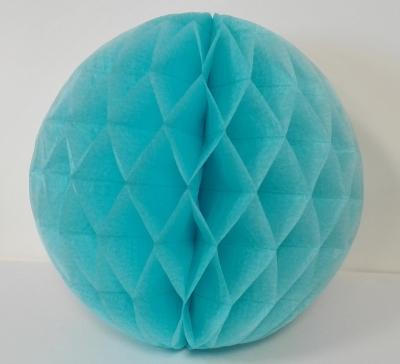 Dekoracyjna kula papierowa  śr. 24cm mix kolorów .