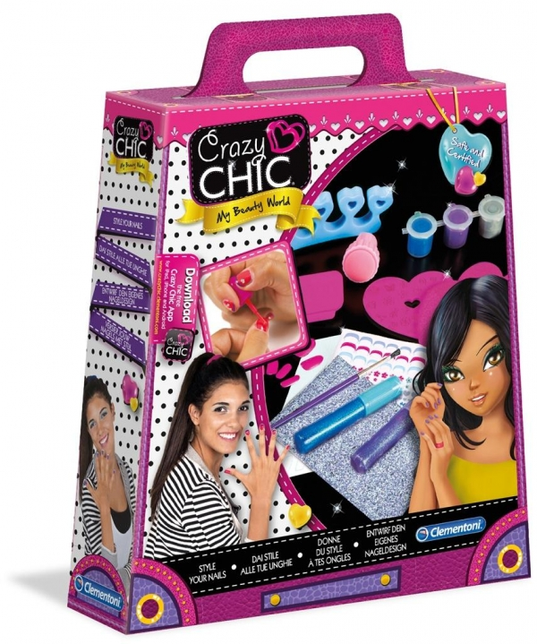 Crazy Chic Wystylizuj swoje paznokcie  (78143)