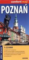 Poznań 1:22 000 plan miasta laminowany