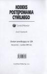 Kodeks Postępowania Cywilnego Zestaw nowelizujący nr 120 Gudowski Jacek
