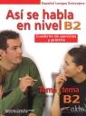 Asi se habla en nivel B2 /Edelsa Vanessa Coto Bautista, Anna Turza Ferré