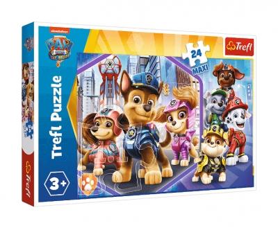 Puzzle 24el Maxi Bohaterowie na straży
