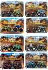 Hot Wheels - Monster Trucks: Pojazd 1:64 2-pak (FYJ64)mix