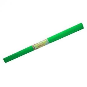 Bibuła dekoracyjna marszczona (krepina). Zielona