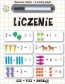 Kolorowe tablice i ścieralny pisak Liczenie
