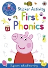 Peppa Pig: First Phonics Sticker Activity