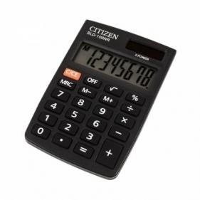 Kalkulator kieszonkowy Citizen SLD-100NR czarny, 8-cyfrowy