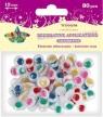Oczka dekoracyjne kolorowe 12mm (268432)