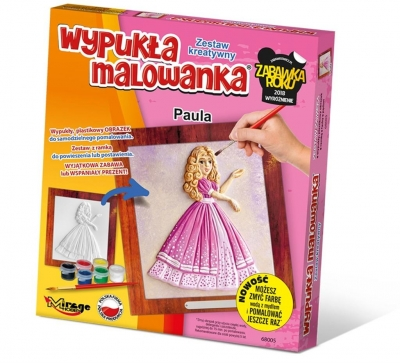 Wypukła Malowanka - Księżniczka Paula