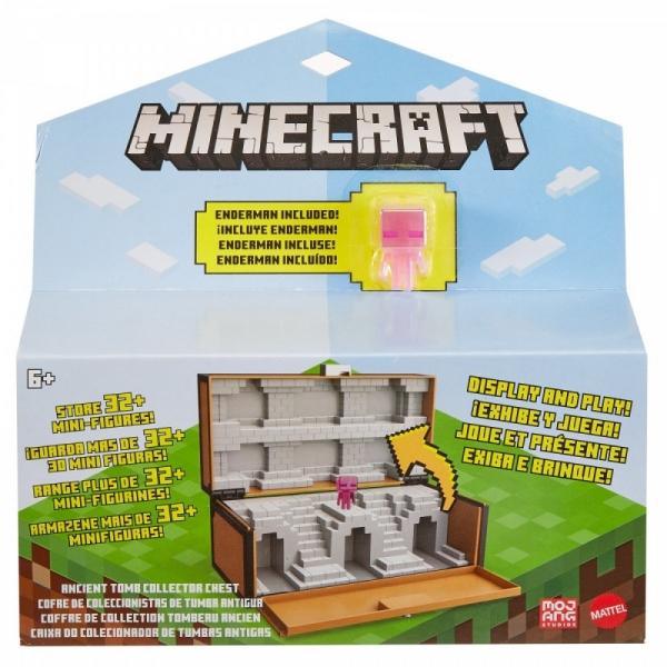 Zestaw Minecraft Skrzynia kolekcjonera 2w1 (GTP32)