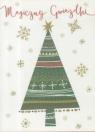 Karnet B6 Boże Narodzenie - Choinka