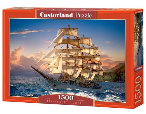 Puzzle Sailing at Sunset 1500 (B-151431)