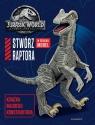 Jurassic World 2 Stwórz raptora Książka młodego konstruktora Pallant Katrina