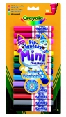Markery Crayola spieralne mini 14 sztuk