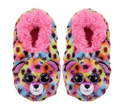 TY Fashion Giselle - Pantofle Lampart. Rozmiar M