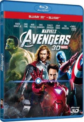 Avengers 3D (Blu-ray) praca zbiorowa