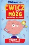 Mensa Kids Ćwicz swój mózg Łamigłówki dla dzieci Poziom 3 (Uszkodzona okładka)