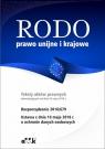 RODO prawo unijne i krajowe PGK1266