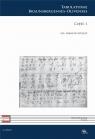 C XXV. Tabulaturae Braunsbergenses-Olivenses cz.1 red. Marcin Szelest