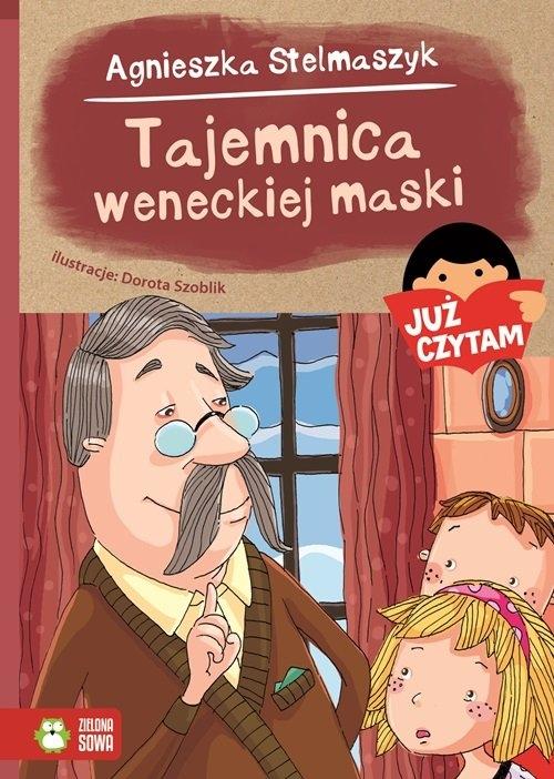 Tajemnica weneckiej maski Już czytam! Stelmaszyk Agnieszka