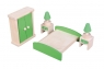 Mebelki drewniane - sypialnia (108032) Wiek: 3+