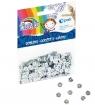 Confetti cekiny - kółko srebrne Fiorello (437302)