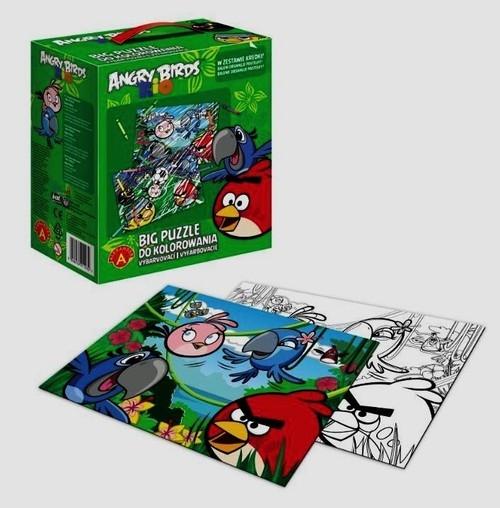 Big puzzle Angry Birds Rio