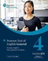 PTE General Level 4 (C1) no key with Student's...