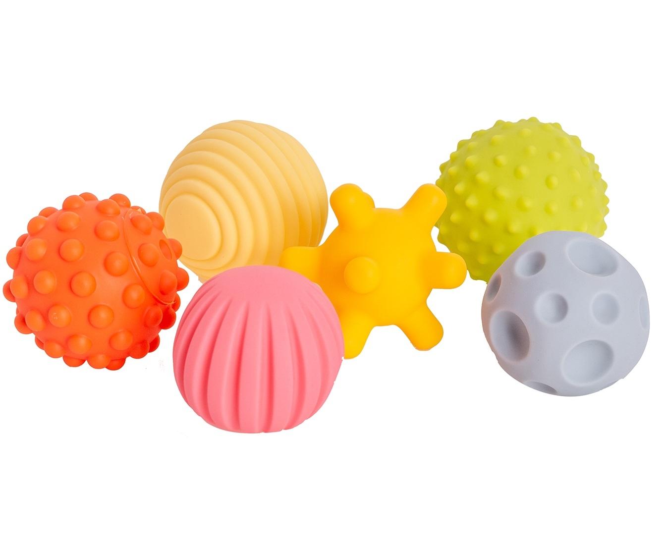 Zestaw piłek sensorycznych 6 szt. (113432)