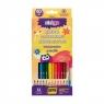 Kredki ołówkowe akwarelowe - 12 kolorów STRIGO
