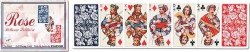Karty do gry Piatnik 2 talie Róże karty pasjansowe (2023)